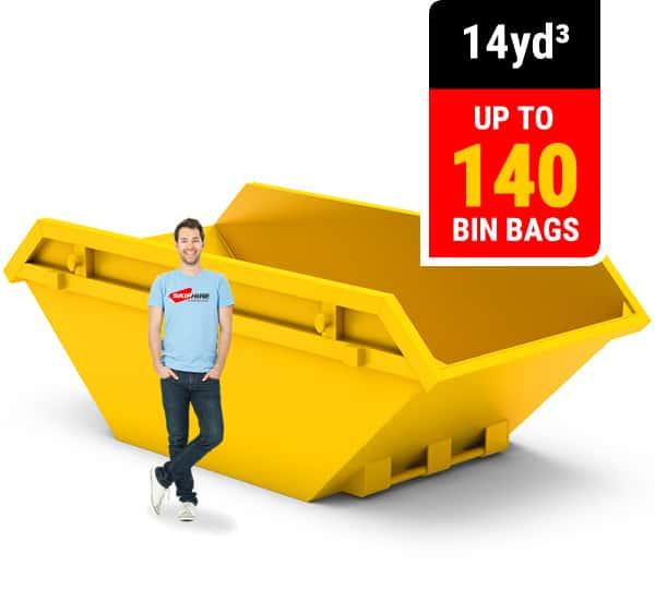 14 cubic yard skip