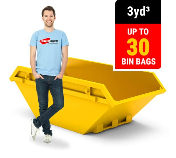 3 cubic yard skip