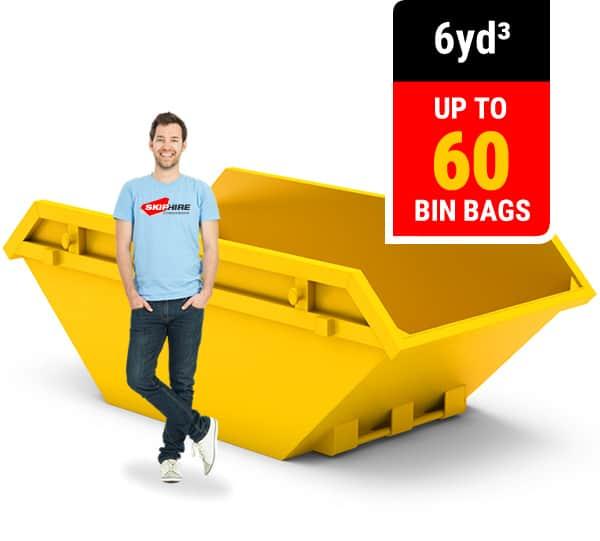 6 cubic yard skip