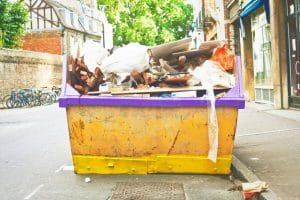 skip hire in Birniehill